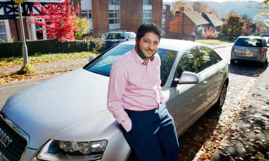 Former Uber driver Yaseen Aslam.