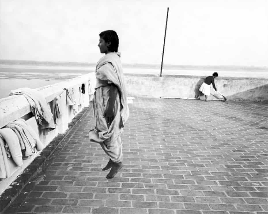 Jumping Girl, 1999, by Dayanita Singh.