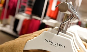 John Lewis hangers at the Oxford Street branch in London