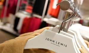 a row of John Lewis coats on the peg