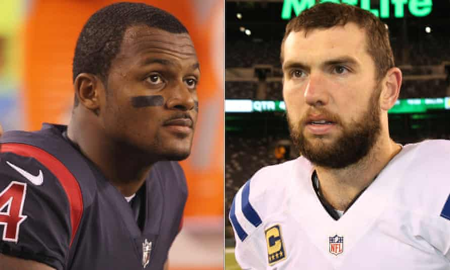Deshaun Watson and Andrew Luck will play no part in the rest of the season