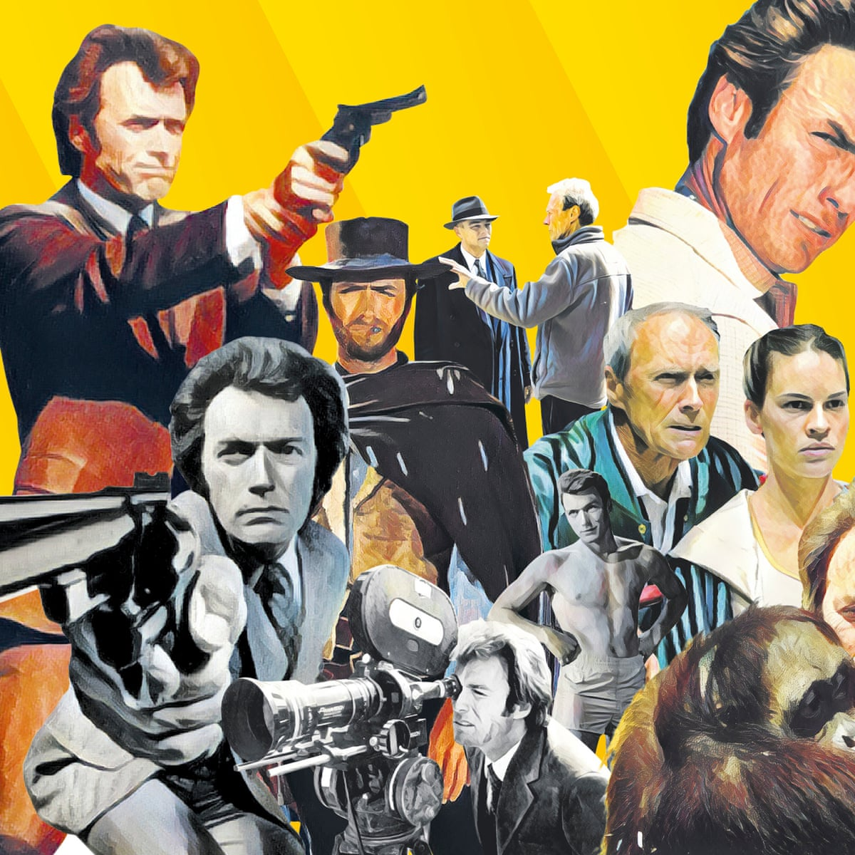 The Meaning Of Clint What Watching 40 Eastwood Films Has Taught Me Film The Guardian