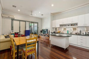 A property costing $950,000 in the inner-west Melbourne suburb of Kensington.