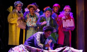 Sally Cookson's Sleeping Beauty at the Bristol Old Vic.