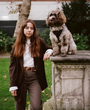 Caitlin and her Cockapoo Mabel
