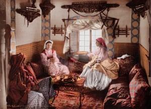 Women in Algeria. 1899