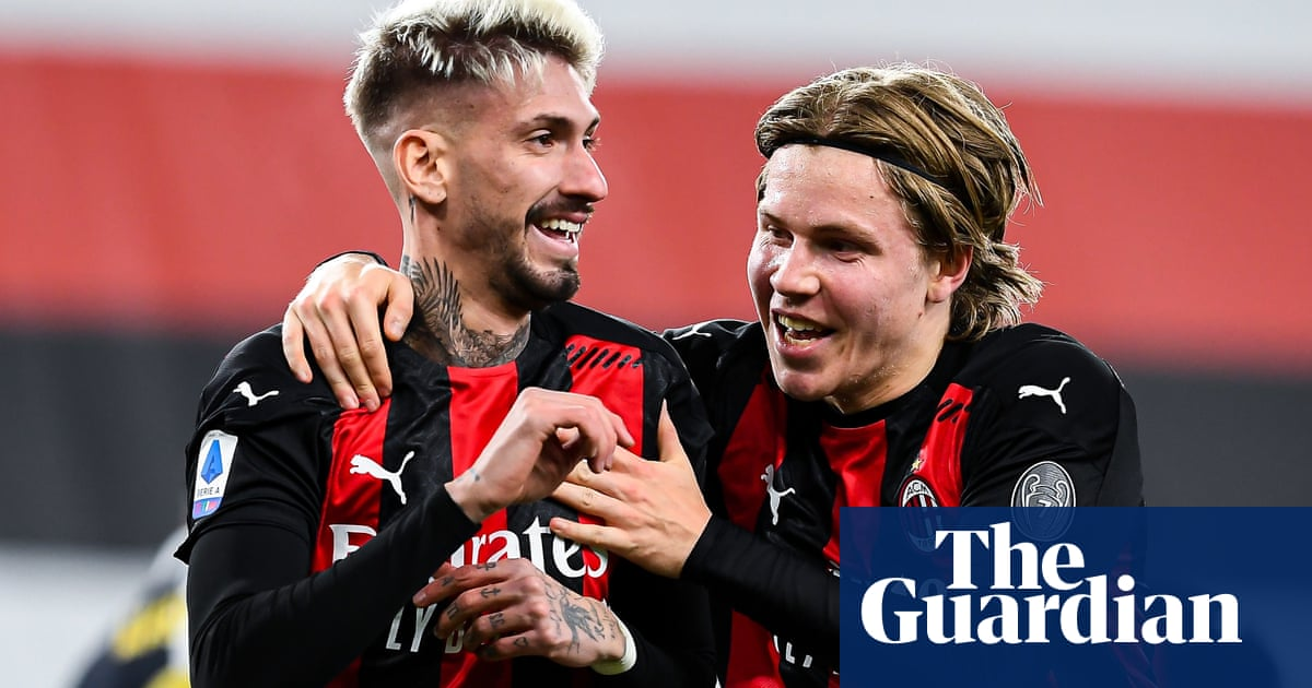 European roundup: Milan beat Sampdoria and go five clear in Serie A