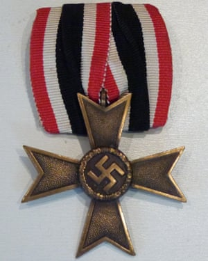 The Iron Cross given to Hans Kohout was made in the Royal Mint