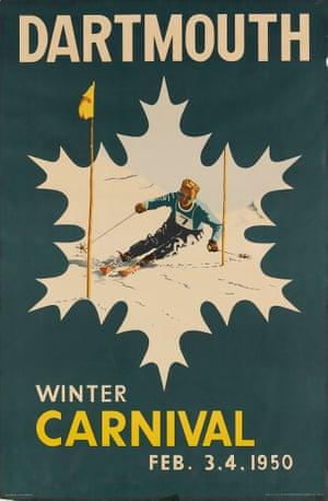 Dartmouth Winter Carnival, 1950, by Colin Stewart