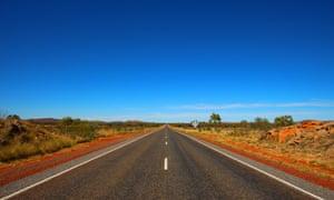 The Stuart Highway, NT, Australia.