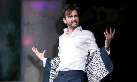 'A picture of dissolution': David Tennant in Don Juan in Soho.