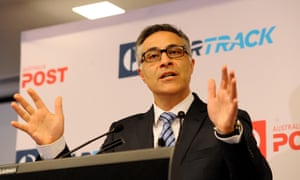 Australia Post Managing Director and Group CEO Ahmed Fahour
