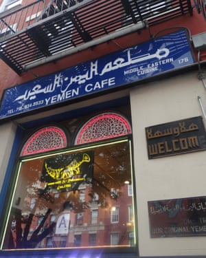 The Yemen Cafe in Brooklyn, New York, has become a 'home away from home' for many Yemeni Americans.