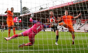 A consolation goal from Bournemouth's Dan Gosling.