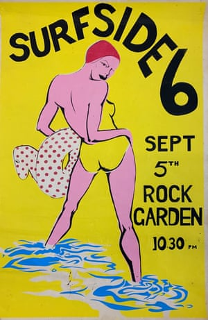 Surfside 6 Rock Garden poster