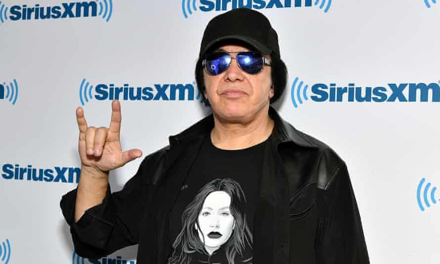 Gene Simmons pictured in New York earlier this month.