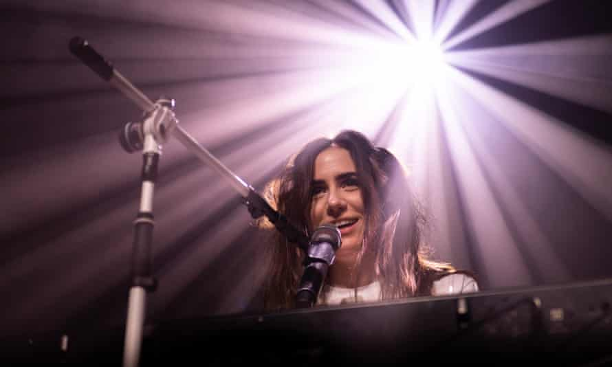 Dodie performing at Barrowlands Ballroom in Glasgow.