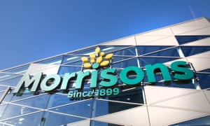 A Morrisons store front.