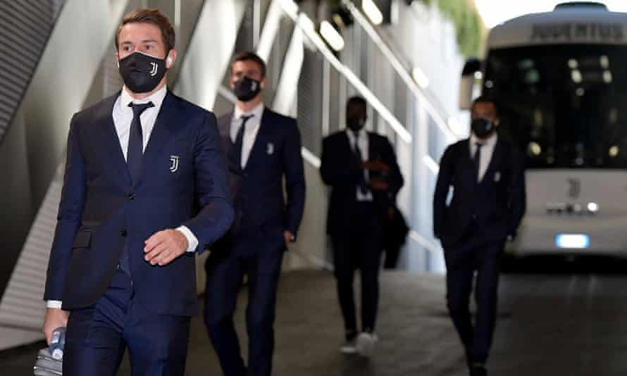 Aaron Ramsey arrives for a game last month.