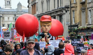 Image result for anti trump protest london