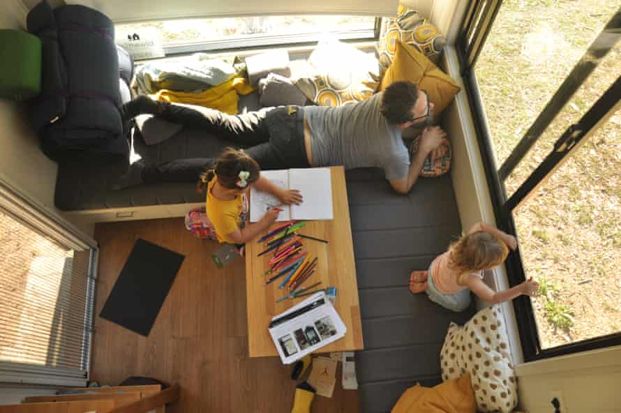 'Maybe we should go outside': the view from the tiny house