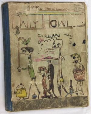 John Lennon's handmade magazine Daily Howl, c.1957.