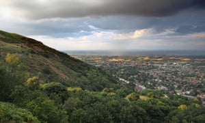 Malvern Hills, Worcestershire: 'The countryside is perhaps the most stirring in England.'