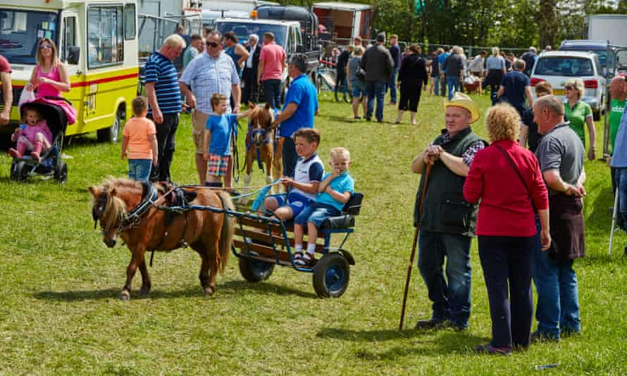 Gypsy and Traveller families at the Appleby Horse Fair in Cumbria, 2015