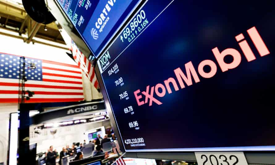 ExxonMobile share price at the NYSE