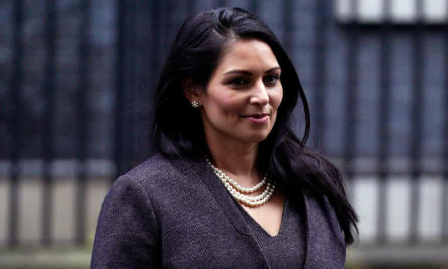 Priti Patel said it would be necessary for businesses to look more to potential British workers, helping them to 'up their skills and make their skills relevant'.