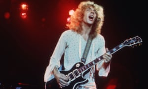 'I've got a week left to write it' … Peter Frampton in 1976, a year after the single's release.