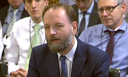 NHS England CEO Simon Stevens, who says a loss of thousands of hospital beds cannot occur until there are alternatives for patients.