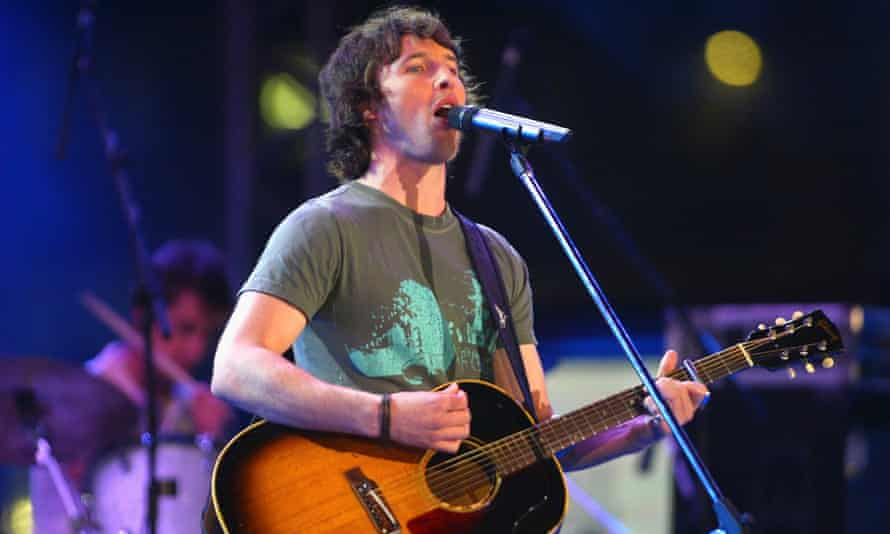 'It was such a big hit, it scared me' … James Blunt.