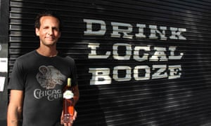 Jay DiPrizio, owner of the Chicago Distilling Company.