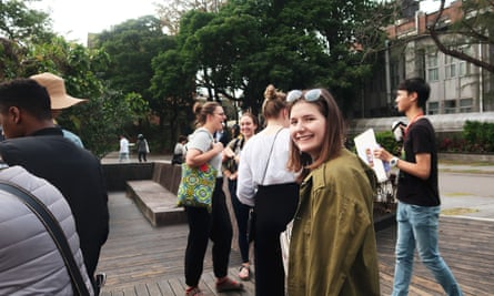 The class of 2020 in Taipei.