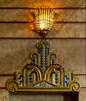 Enmore theatre, decorative lightingThe Enmore theatre has a remaining architectural fabric that includes elements of art nouveau, Edwardian, art moderne and various art deco styles. This mix of styles can be seen in the decorative elements associated with the lighting