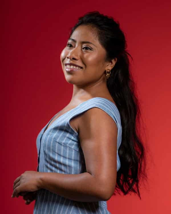 Yalitza Aparicio: 'My life was similar. We were both poor, and we both wanted to go to Mexico City.'