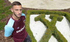 Marko Arnautovic has joined West Ham United, describing the club as 'growing, getting better and better'.