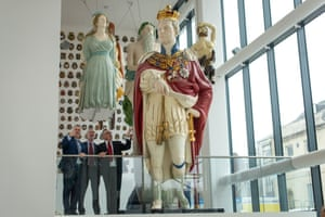 Huge Naval Figureheads Rescued From Obscurity To Go On Display In Uk Uk News The Guardian