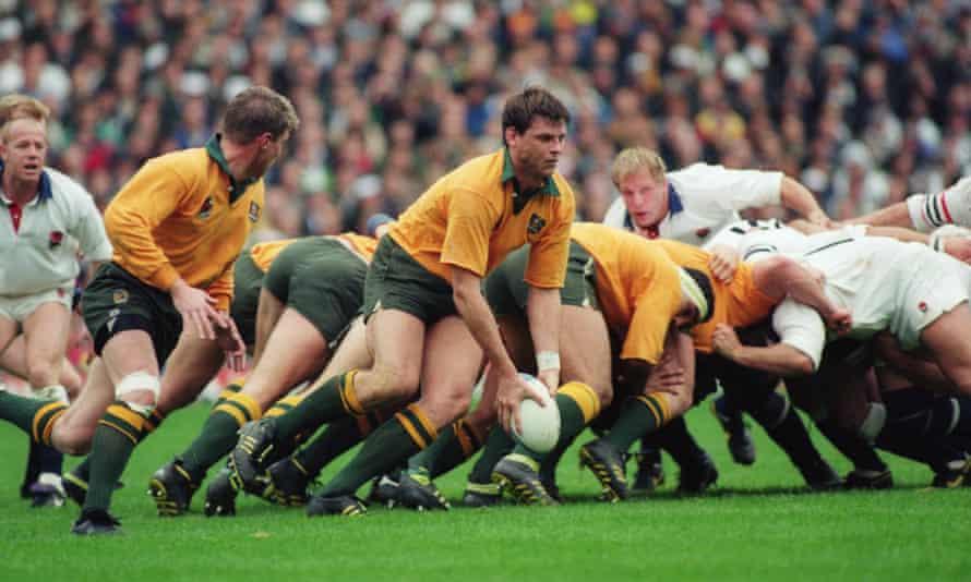 Australian scrum rugby World Cup final 1991