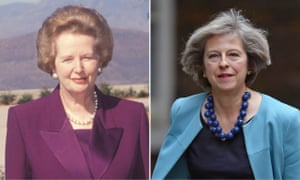 Margaret Thatcher and Theresa May
