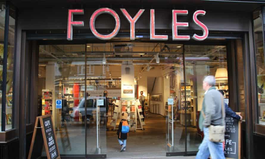 Foyles bookshop in London