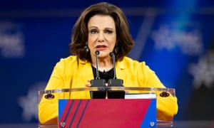 KT McFarland speaks at the Conservative Political Action Conference