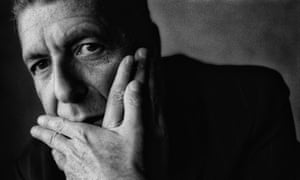 Leonard Cohen photographed in Oslo in 1993.