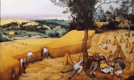 Pulling together, Dutch-style. The Harvesters, by Pieter Bruegel the Elder