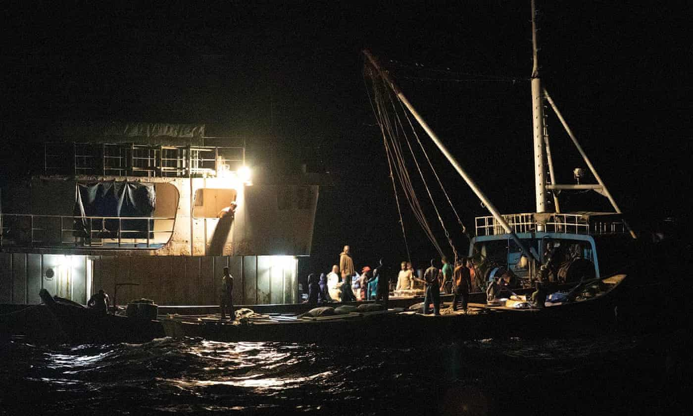 Illegal fishing by foreign trawlers costs Ghana $50m a year, researchers say