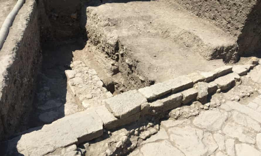 Part of the current excavation.