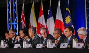 TPP trade representatives