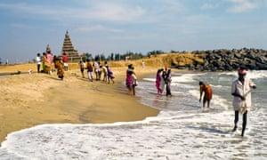Shore temple in Mahabalipuram.