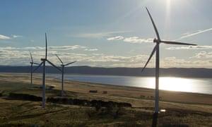 A windfarm in Bungendore